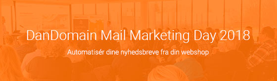DanDomain Mail marketing day nyhedsbreve til webshop